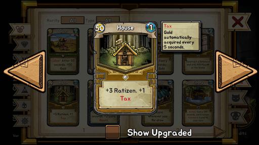 Ratropolis : CARD DEFENSE GAME apkdebit screenshots 8