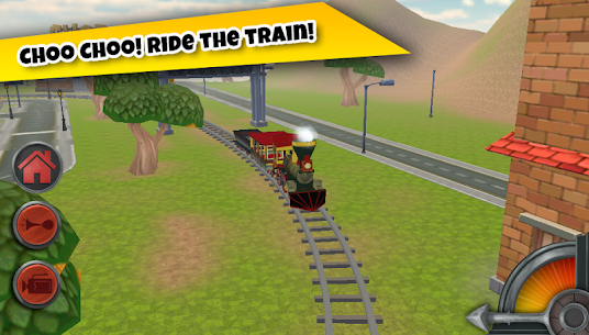 3D Train Game For Kids – Free Vehicle Driving Game 3.0 MOD for Android 1