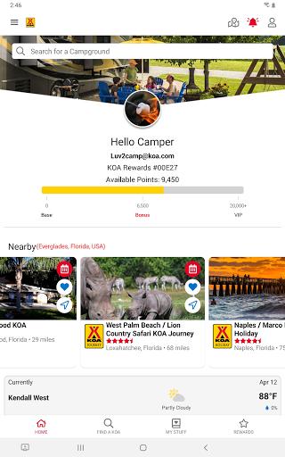 KOA | RV, Cabin & Tent Camping android2mod screenshots 9