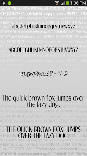 Fonts Clean for FlipFont® Free For PC Windows (7, 8, 10, 10X) & Mac Computer Image Number- 6