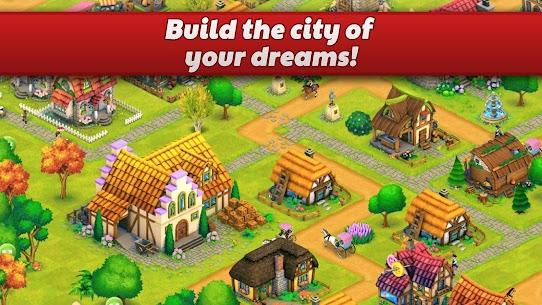 Town Village  Farm, Build, Trade, Harvest City Apk Download 2021 4