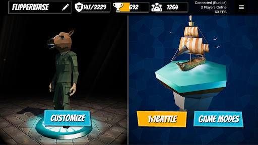 1v1Battle - Build Fight Simulator  screenshots 1