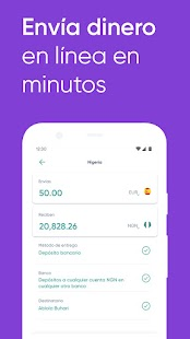 WorldRemit, giros de dinero Screenshot