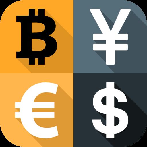 Conversor de divisas - Dinero y criptodivisas