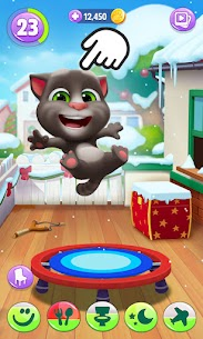 My Talking Tom 2 Mod Apk Unlimited Fun + Unlimited Coins 4