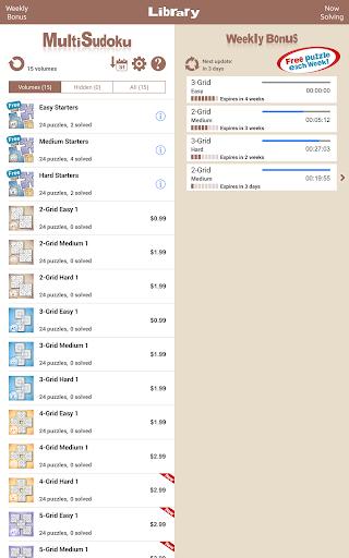 Conceptis MultiSudoku screenshots 10