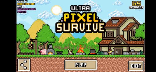 Ultra Pixel Survive: RPG Survival screenshots 5