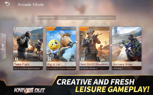 Knives Out-No rules, just fight! apkpoly screenshots 12
