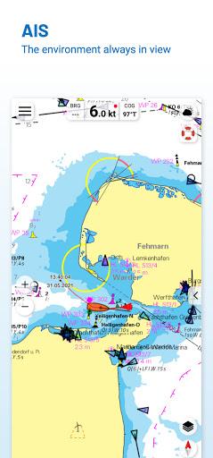 NV Charts GPS Navigation AIS android2mod screenshots 3