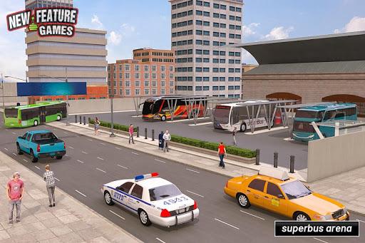 Super Bus Arena: simulateur de bus moderne 2020 APK MOD – ressources Illimitées (Astuce) screenshots hack proof 2