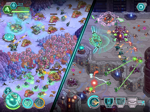 Iron Marines: RTS Offline Real Time Strategy Game 1.6.3 screenshots 13