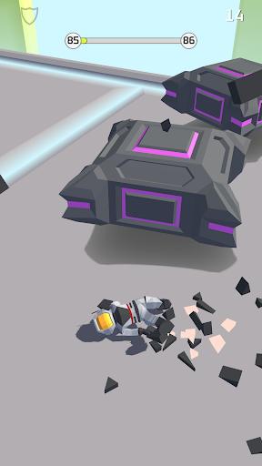 bob's cloud race: casual low poly game screenshot 3