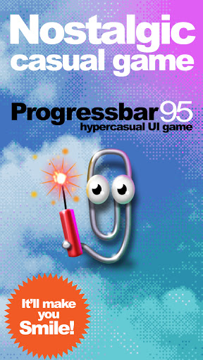 Progressbar95 - easy, nostalgic hyper-casual game modiapk screenshots 1