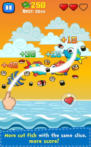 Sushi Ninja apkmr screenshots 7