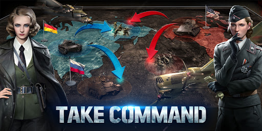 World of War Machines - WW2 Strategy Game screenshots 8