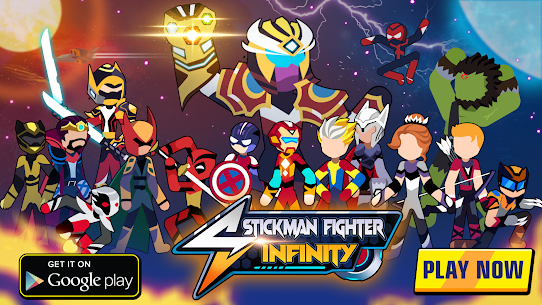 Stickman Fighter Infinity – Super Action Heroes 8