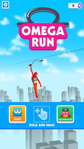 Omega Run screen 0