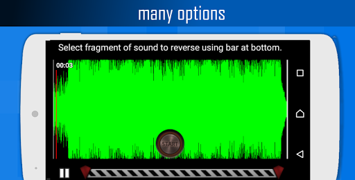 Reverse Sound: talk backwards screenshots 2