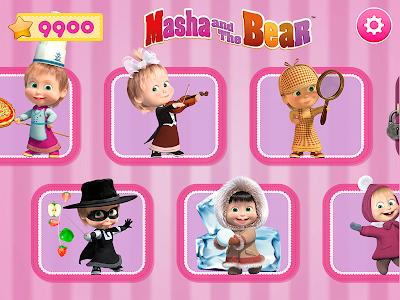 Masha and the Bear. Games & Activities 5.7