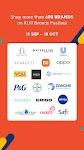 screenshot of Shopee 10.10 Brands Festival