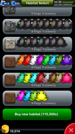 Pocket Frogs 3.5.3 screenshots 13