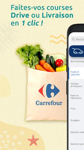 Carrefour : drive, livraison & carte de fidu00e9litu00e9 apktram screenshots 1