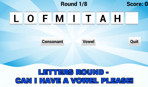 Vowel Please! – Countdown Game – Mod + Data for Android 3