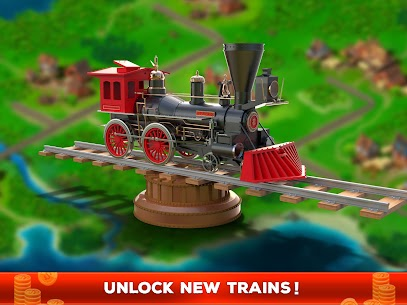 Idle Train Empire Mod Apk (Unlimited Money/Gold) 9
