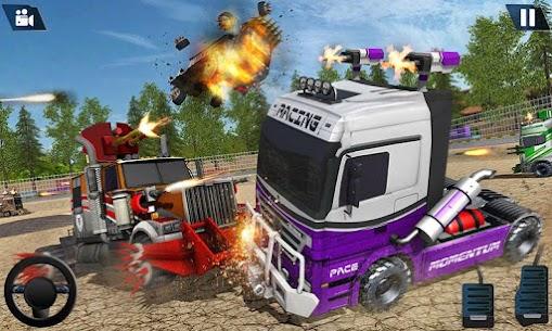 Semi Truck Crash Race 2021: New Demolition Derby 3