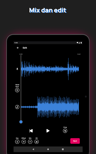 Voloco: Nada Suara Otomatis + Harmoni