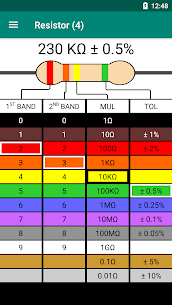 Resistor Color Code – Calculator (PRO) 1.1 Apk 1