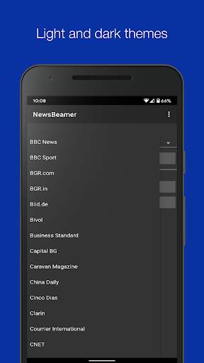 newsbeamer screenshot 2