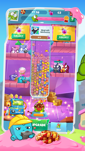 Om Nom Idle Candy Factory android2mod screenshots 4