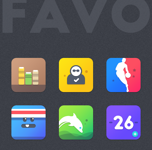 Download APK: FAVO ICON PACK v1.0.5 [Patched]