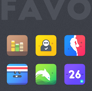 FAVO ICON PACK (SALE!) 1.1.5 (Patched)