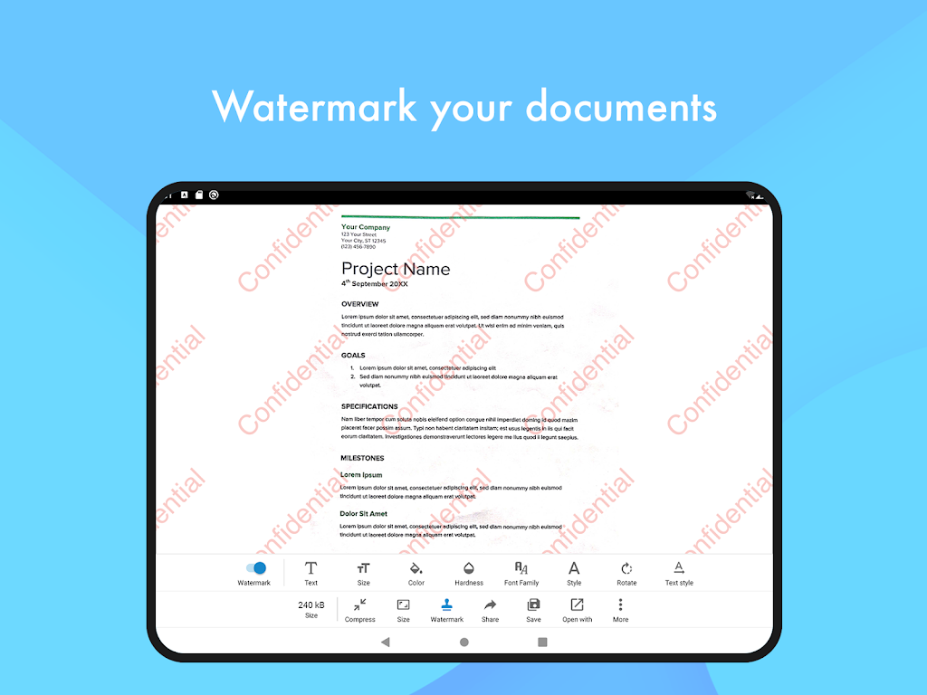 Document Scanner - (Made in India) PDF Creator  poster 10