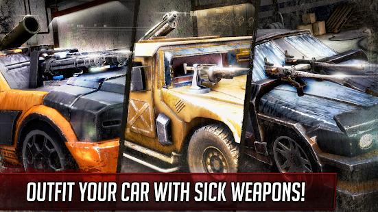 Death Race ® - Offline Games Killer Car Shooting Screenshot