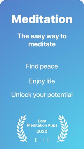 Serenity: Guided Meditation & Mindfulness 2.18.2 Screenshots 1