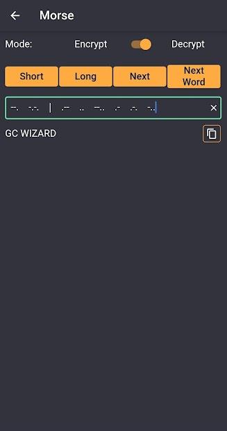 GC Wizard screenshot 4
