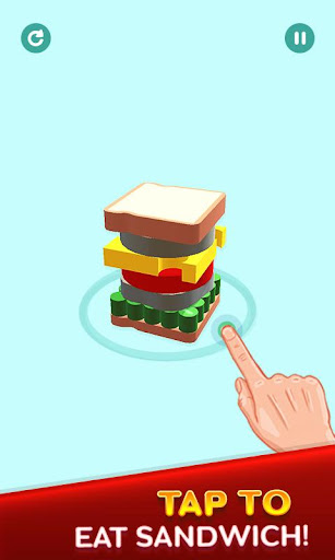 Perfect Sandwich Folding Puzzle Master android2mod screenshots 2