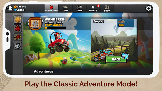 Hill Climb Racing 2 (MOD, Unlimited Money) v1.43.1 5