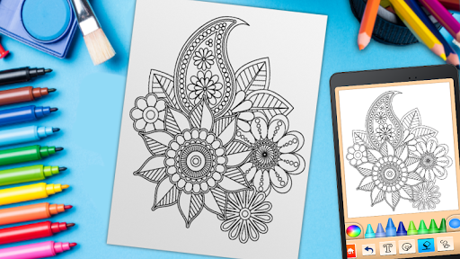 Mandala Coloring Pages 15.2.0 screenshots 12