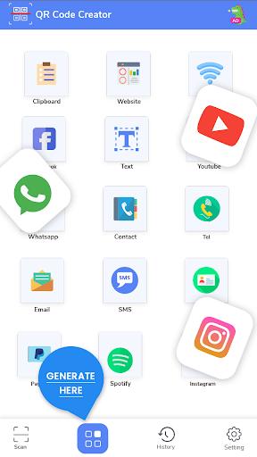 QR Code Reader - Fast Scan, Barcode & QR Scanner android2mod screenshots 5