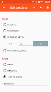 Battery Sound Notification