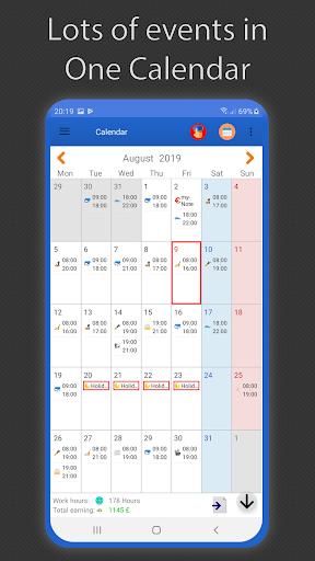 Working Hours 4b  screenshots 1