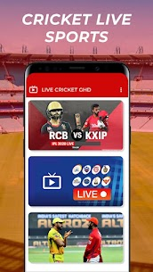 Free GHD SPORTS – Free Cricket Live TV GHD Guide Apk Download 2021 1