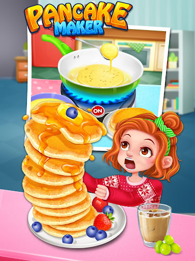 School Breakfast Pancake Food Maker screenshots 11