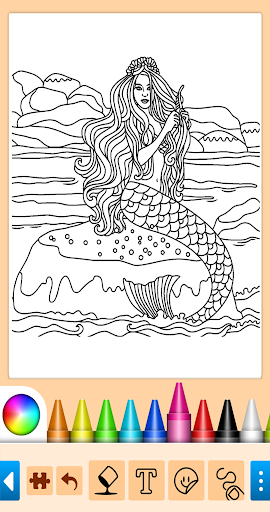 Coloring game for girls and women 15.1.4 screenshots 10