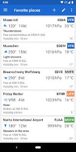 Avia Weather - METAR & TAF 2.12.6 Screenshots 1