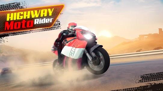 Highway Moto Rider – Traffic Race – Mod APK (Unlock All) 1